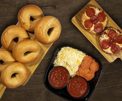 Do it Yourself Pizza Bagel Kit